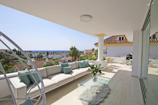 Penthouse a vendre à Monte Paraiso, Marbella Golden Mile, 3 Chambres, 3 Salles de bains à Monte Paraiso, Marbella Golden Mile